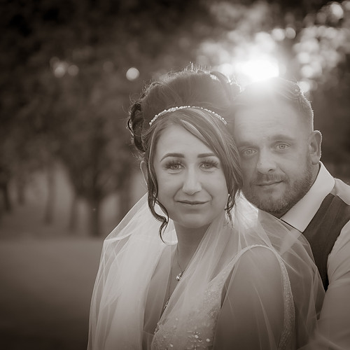 Hannah and Kris, Middlesbrough Golf Club
