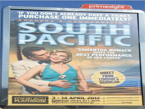 Brand Alliance with the South Pacific Musical, Samoa