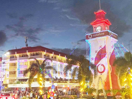 Samoa raises spirits with Christmas Lights Festival whilst preparing to be first to welcome 2021