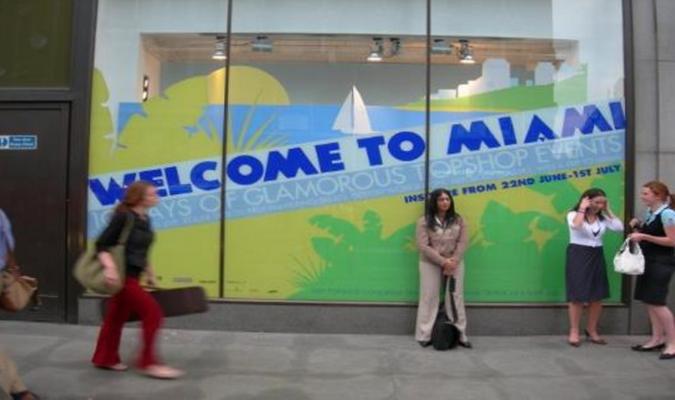 Top Shop Fashion Week Miami