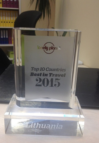 Lonely Planet Best in Travel Lithuania