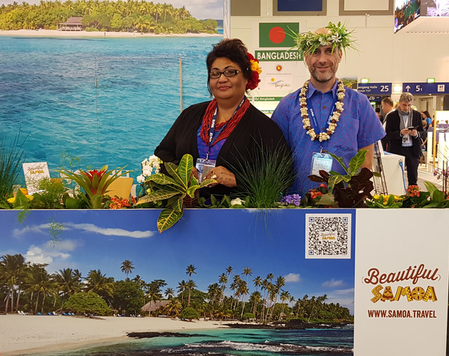 Samoa Representation at International Shows