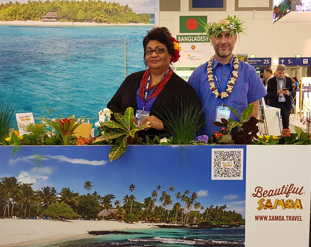 Samoa Representation at International Shows