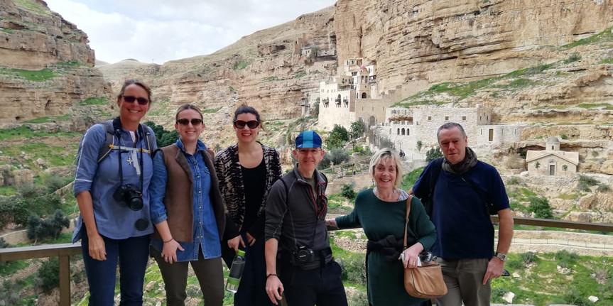 Group Press Trip, Palestine