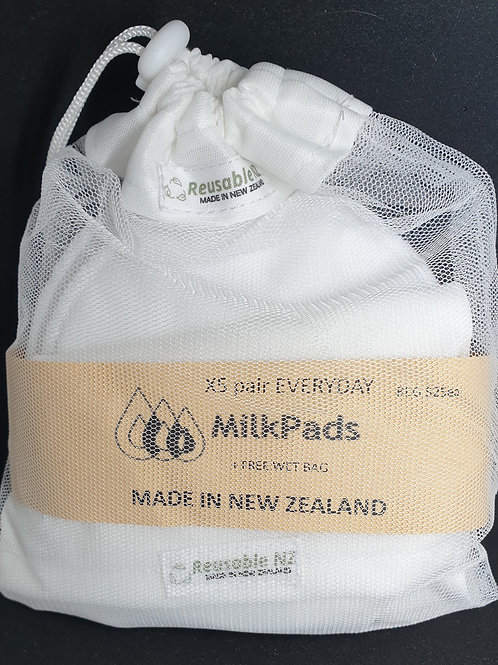 Milk Pads five pack + LB and FREE Wetbag