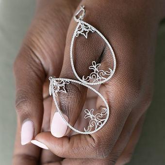 Earings Large - Pinns Diamonds & Jewelle