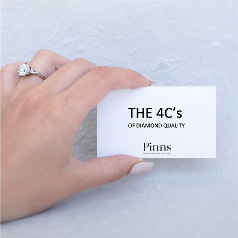 The 4Cs - Pinns Diamonds & Jewellery.png