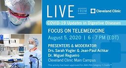 COVID-19 Updates in Digestive Diseases:  Focus on Telemedicine