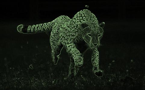 green cheetah back ground.png