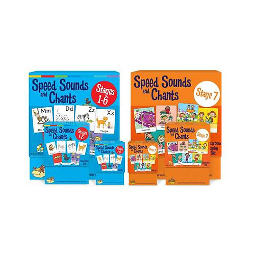 Speed Sounds and Chants Cards Stages 1-7 Super Pack