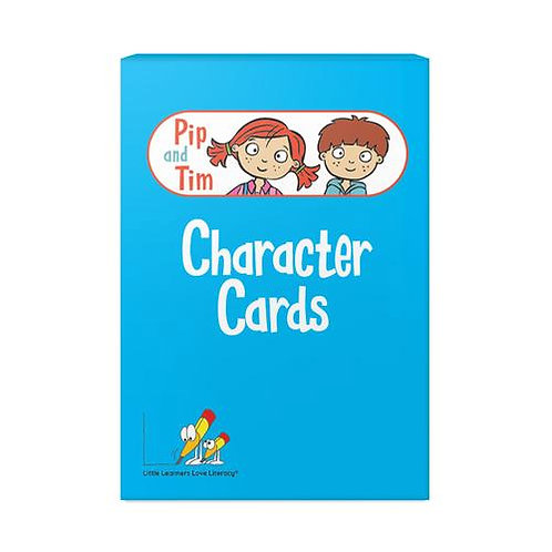 Pip and Tim Character Cards Stages 1-6