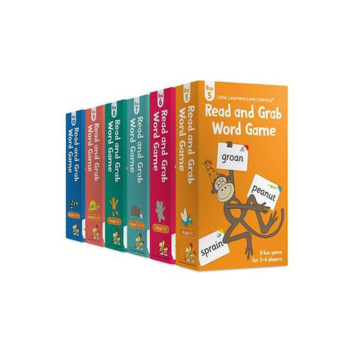 Read and Grab Word Game Pack (Boxes 5-10)