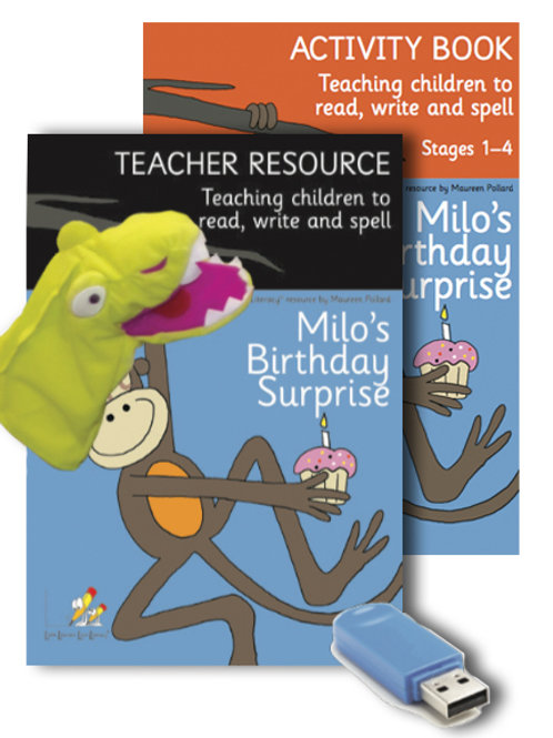 Milo's Teacher Resource Pack (Stages 1-4)