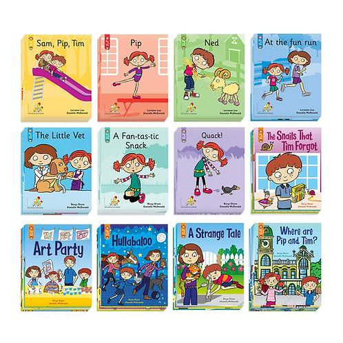 Pip and Tim The Little Book Pack - Stage 1 to Stage 7 Unit 5