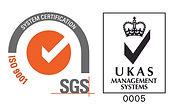 Matt Black Systems ISO9001 SDS Logo