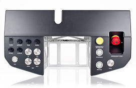 Matt Black Systems illuminated aircraft panel buttons and knobs
