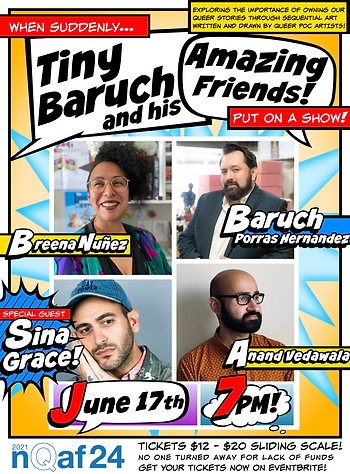 TINY BARUCH SHOW JUNE  NQAF2021 POSTER.p