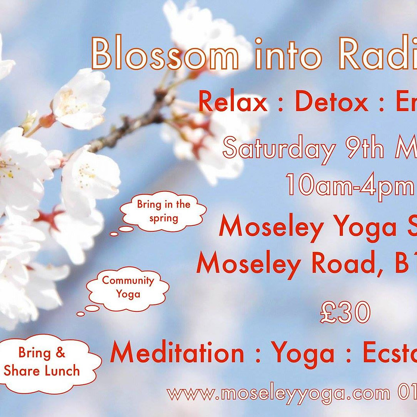 Blossom into Radiance-Relax, Release and Restore