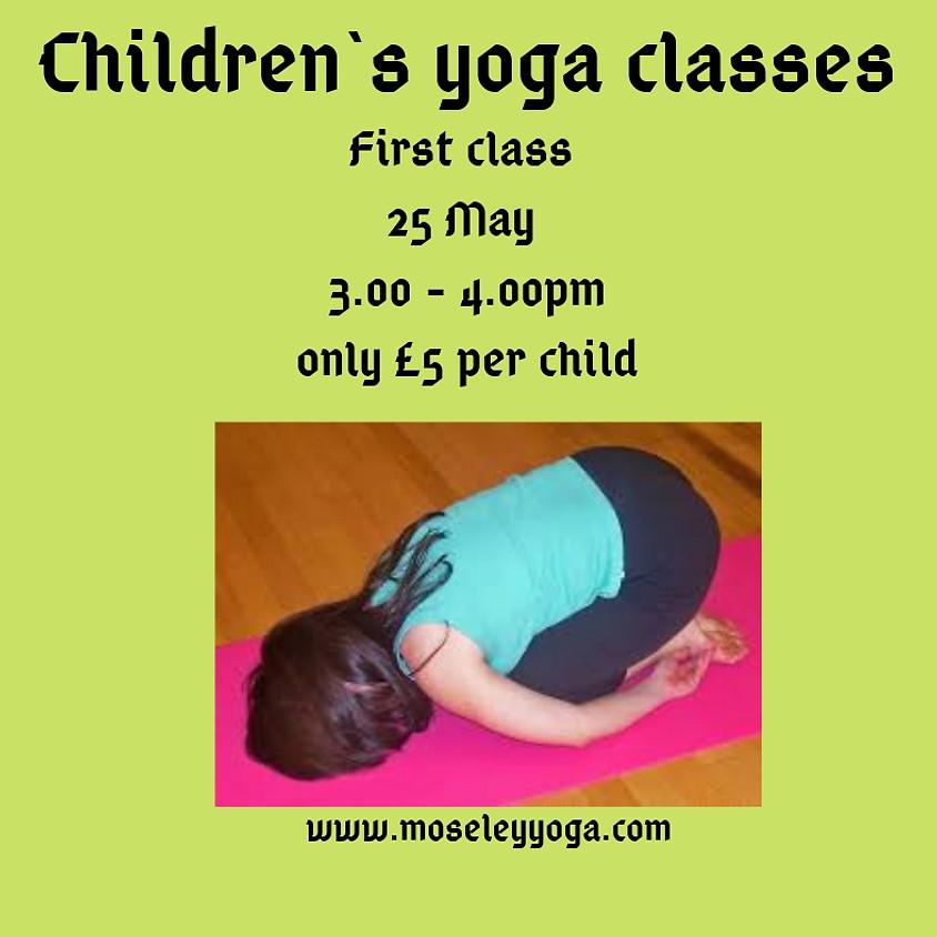 Children`s yoga classes