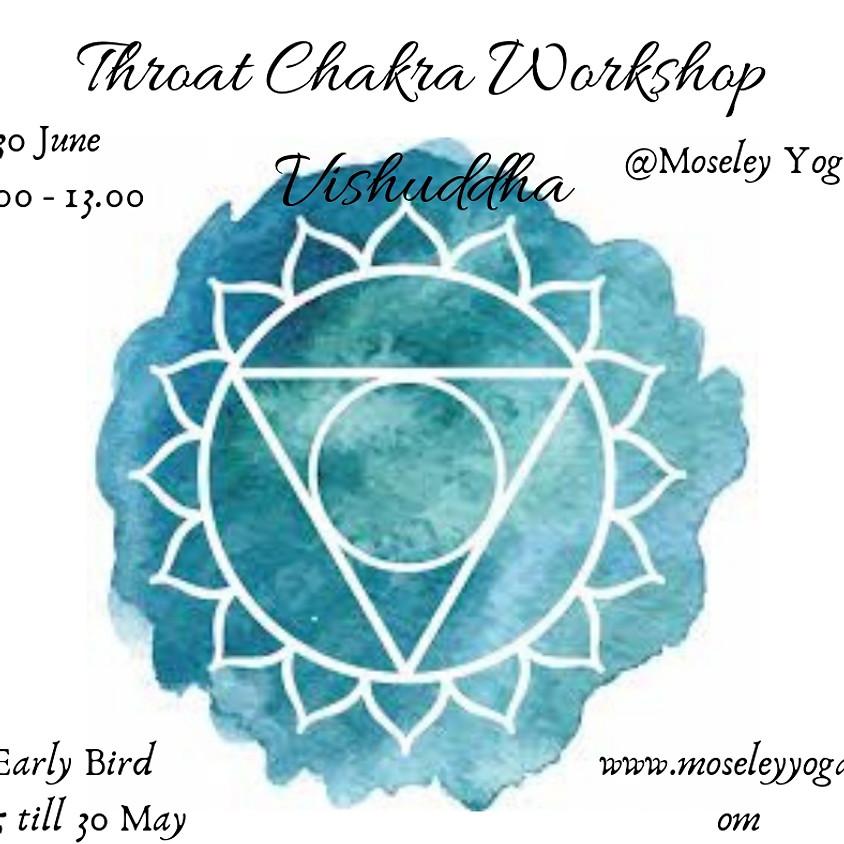 Throat Chakra Workshop (Vishuddha)