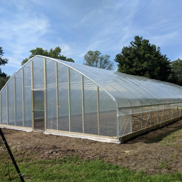 30' Gothic w/ Plastic Endwall Covering