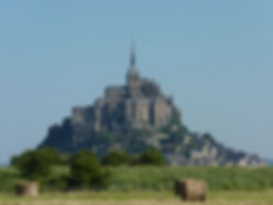 Мон Сен Мишель, Мон Сен-Мишель, замок Мон Сен-Мишель