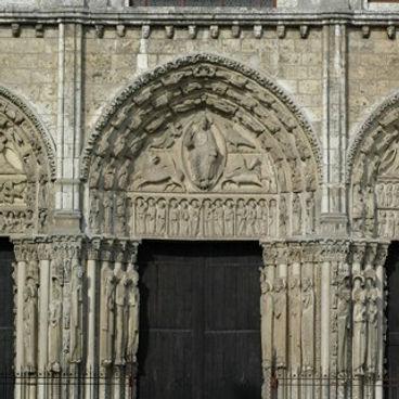 Королевский портал Шартрского собора