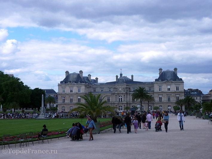 Люксембургский сад фото, Люксембургский сад, Люксембургский сад в Париже, Люксембургский дворец, Люксембургский сад Медичи