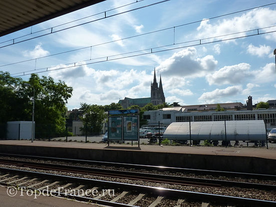 Вокзал Шартра, в Шартр на поезде, Шартр, Chartres