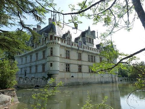 Замок Азе-лё-Ридо(Château d'Azay-le-Rideau)