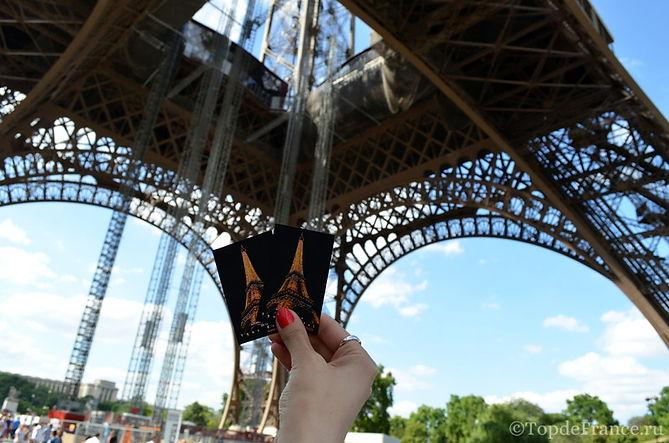 Эйфелева башня, Tour Eiffel, билет на Эйфелеву башню