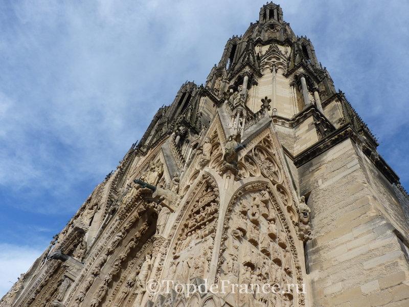 Реймсский кафедральный собор, собор в Реймсе