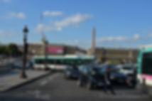 Общественный транспорт в Париже, автобусы в Паиже, площадь Согласия