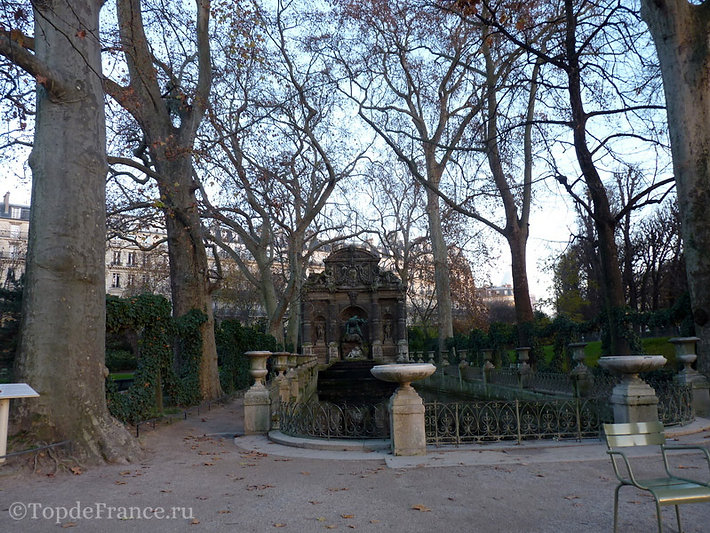 Люксембургский сад фото, Люксембургский сад, Люксембургский сад в Париже, Люксембургский дворец, Люксембургский сад Медичи, фонтан Медичи