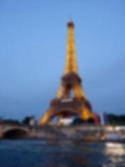 Эйфелева башня, подсветка Эйфелевой башни, Эйфелева башня ночью
