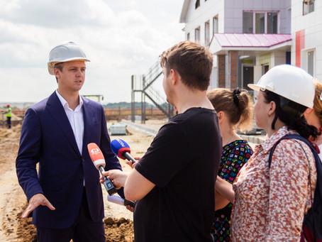 Строим новую школу на севере города!