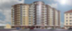 Строительтво многоквартирных домов в Тамбове.