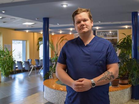 Kuldīgas slimnīcas komandu stiprina jauns speciālists
