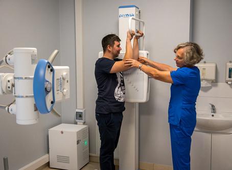 Aizputes filiālē jauna rentgena iekārta