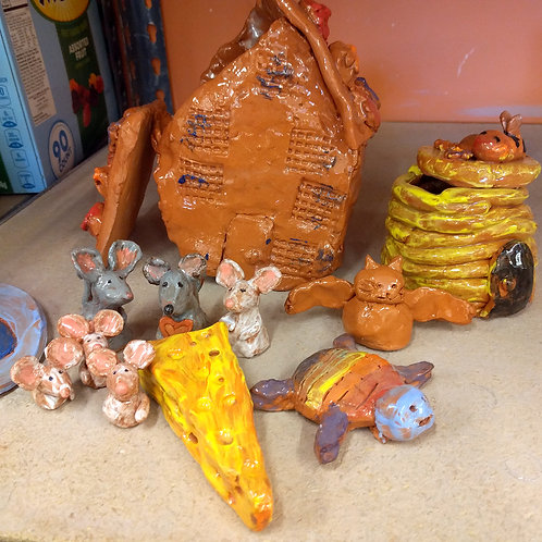 Storytelling: Creating Narratives with Clay, August 10-14, 9am-12pm