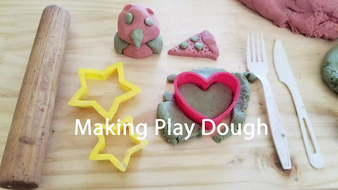 Learn to make play dough with Elisha Harteis!