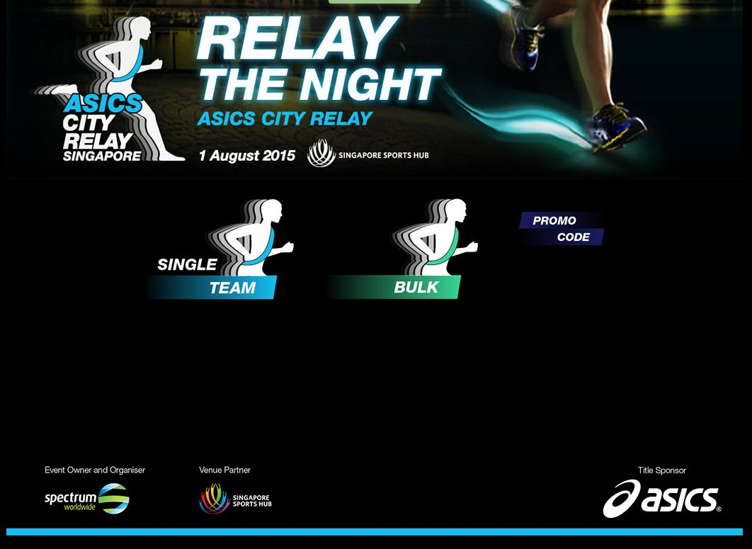 Asics City Relay