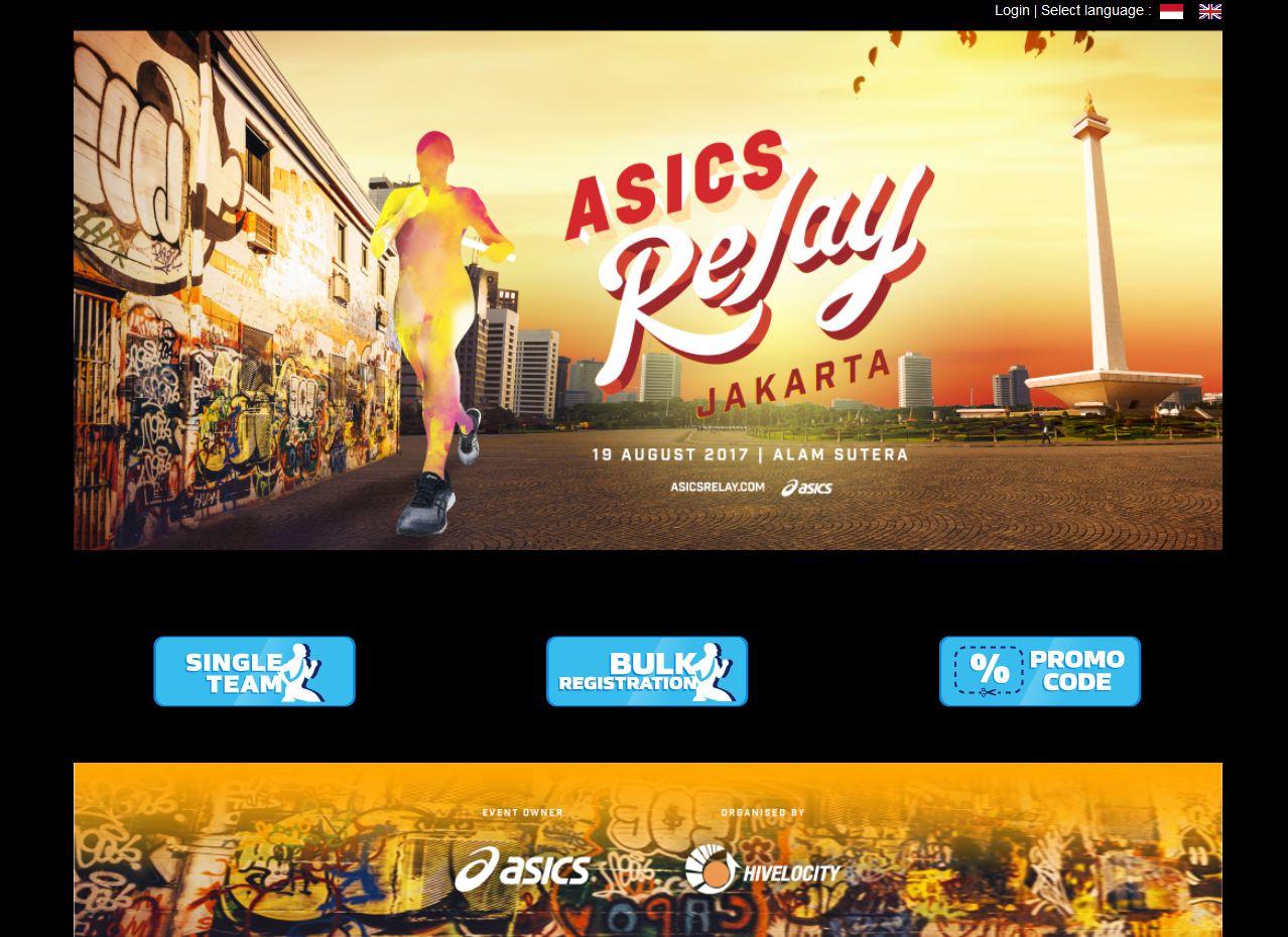 Asics Relay Jakarta