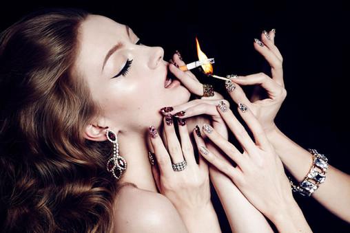 lighting-cigarette-beauty-editorial-hand