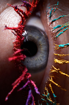 Caitlin Lawson Extreme Closeup Eye