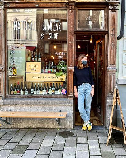Saraï edelrot natural wine bar & shop.J