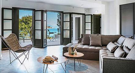 Luxury holiday apartment in Fiscardo, Kefalonia