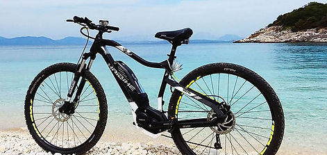 Ionion rent-a-ebike for Dorian holiday homes in Fiscardo Kefalonia