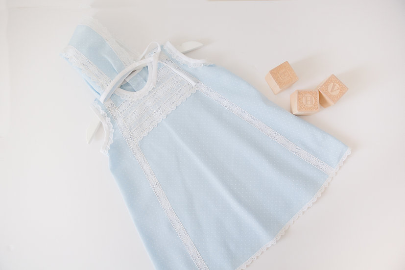 Blue Dots Dress