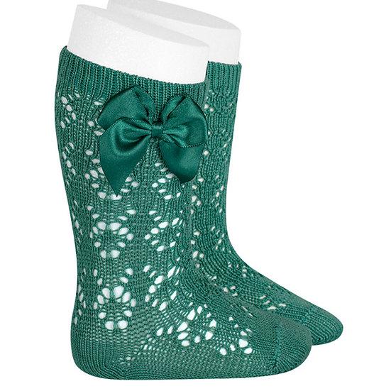 Perle Geometric Knitted Socks